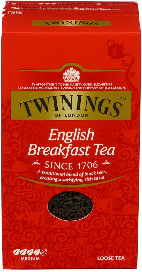 Twinings English Breakfast Løsvekt, 200 g