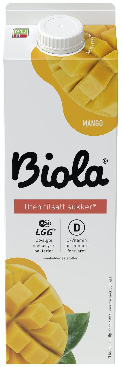 Tine Biola Mango Zero 1 l