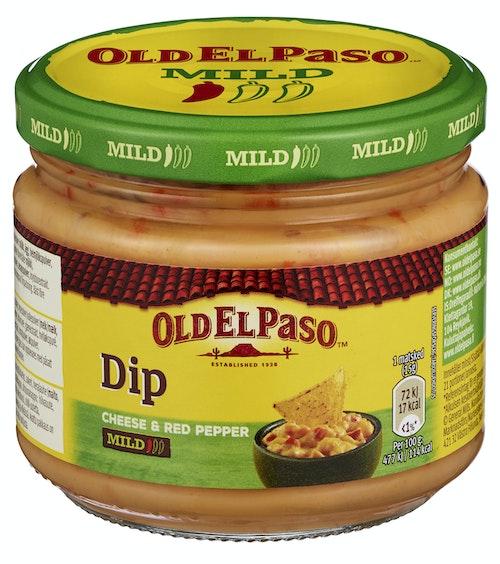Old El Paso Old El Paso Cheese & Red Pepper Dip 320 g
