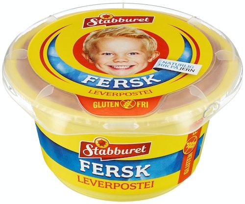 Stabburet Leverpostei Glutenfri Fersk, 150 g