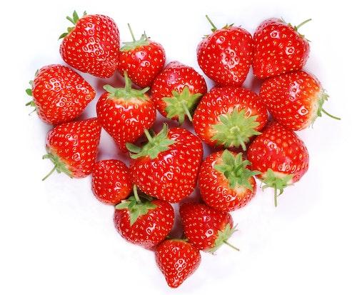 Jordbærhjerte Spania, 340 g