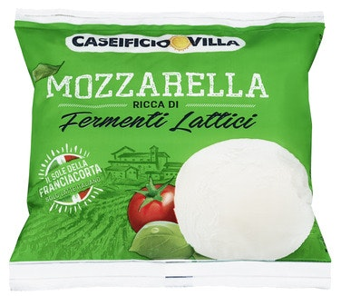 Caseificio Villa Fersk Mozzarella 125 g