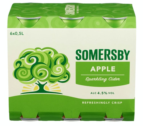 Somersby Somersby Apple 6 x 0,5l, 3 l