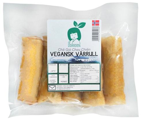 Vegetar Vårruller Fylt  Med Tofu Halvstekte, 250 g