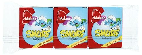Malaco Smurf Fruktpastiller Assortert, 3 stk