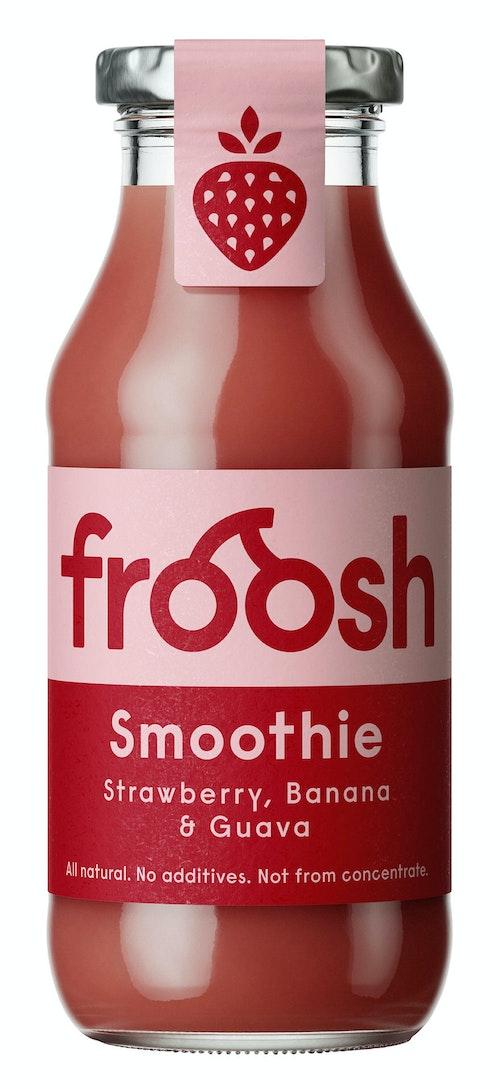 Froosh Smoothie Jordbær, Banan & Guava 250 ml