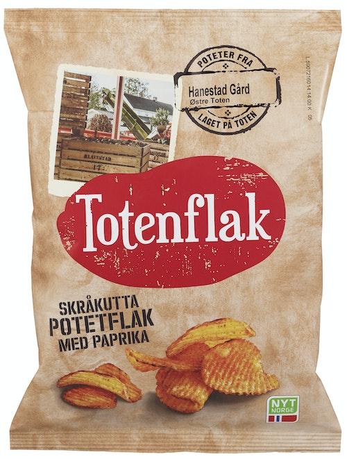 Kims Totenflak Skråkutta Paprika 180 g