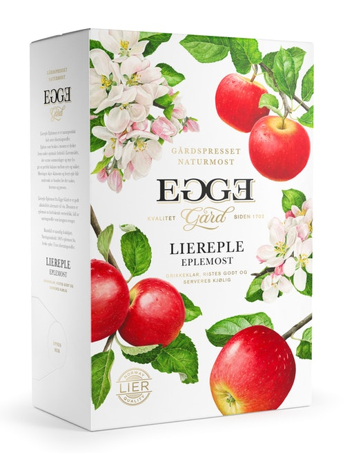 Egge Gård Egge Gård Liereplemost Bag in Box, 3 l