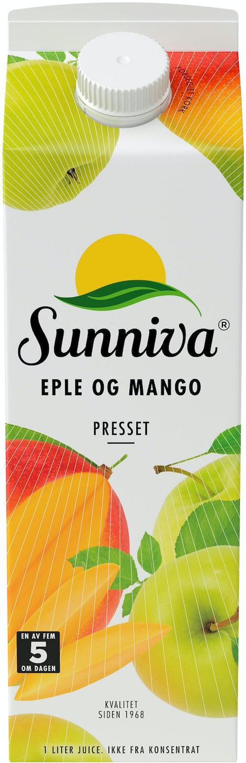 Sunniva Premium Mango Eple Juice 1 l