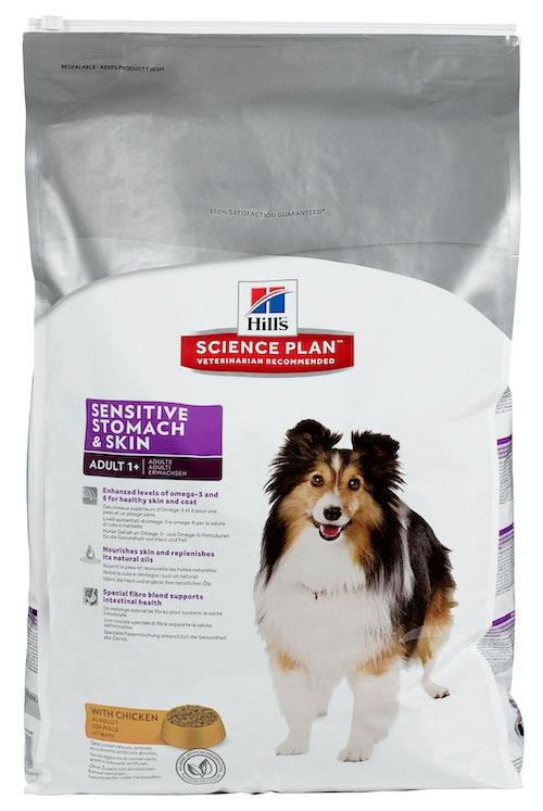 Hills Science Plan Canine Sensitive Stomach & Skin 12 kg