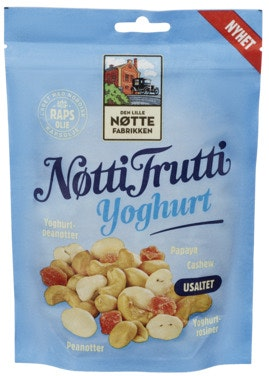 Den Lille Nøttefabrikken Nøtti Frutti Yoghurt Usaltet, 170 g