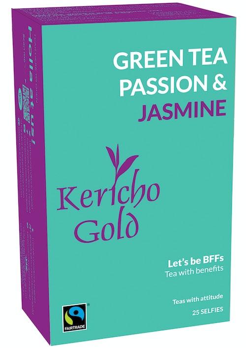 Kericho Gold Grønn te Pasjonsfrukt & Jasmin 25 stk