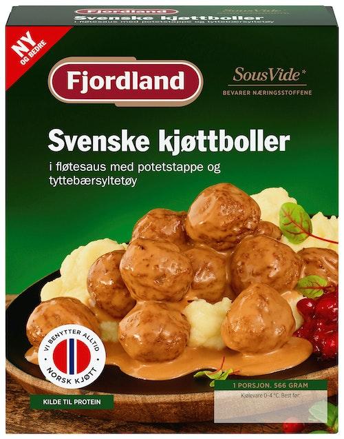Fjordland Svenske Kjøttboller 566 g