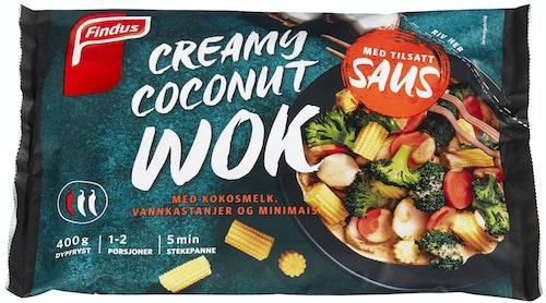 Findus Wok Creamy Coconut Med Tilsatt Saus, 400 g