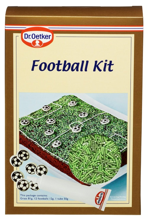 Dr. Oetker Football Decor Kit 160 g