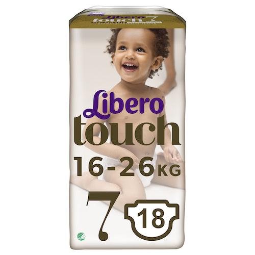 Libero Libero Touch Str.7 16-26kg, 18 stk