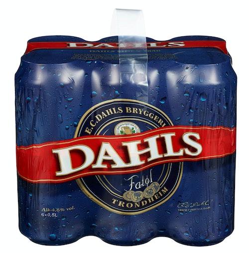 Ringnes Dahls Fatøl 6 x 0,5l, 3 l