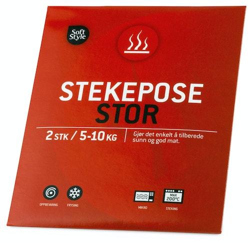 Soft Style Stekeposer Ekstra Store 2 stk