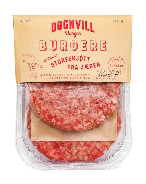 Døgnvill Døgnvill Burger, 2-pak 300 g
