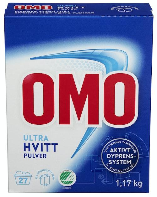 OMO Omo Ultra Hvitt 1,17 kg