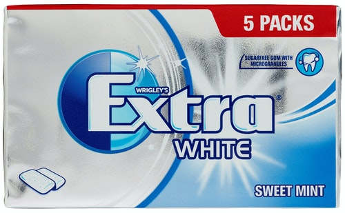 Extra Extra Sweet Mint 5 stk, 70 g
