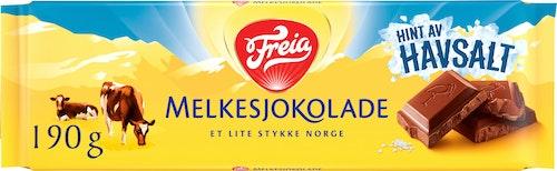 Freia Melkesjokolade med Havsalt 200 g
