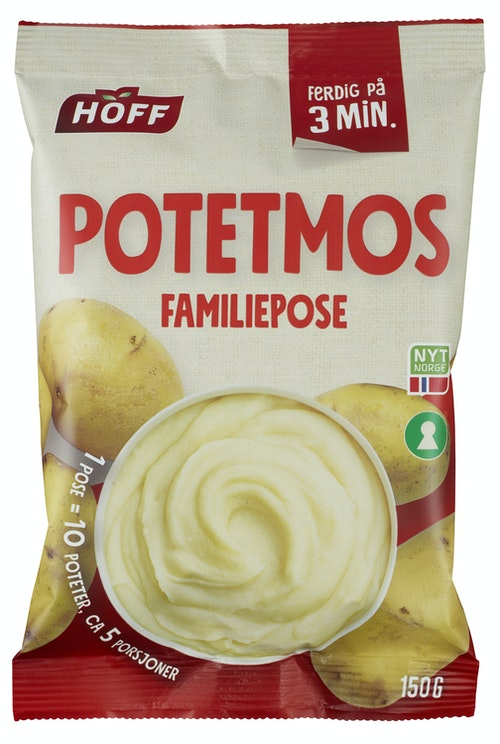Hoff Potetmos Familiepose 150 g