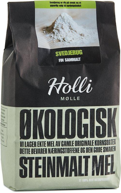 Holli Mølle Økologisk Svedjerug Finmalt, 1 kg
