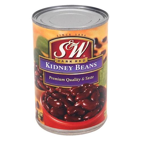 S&W Bønner Røde Kidney 432 g