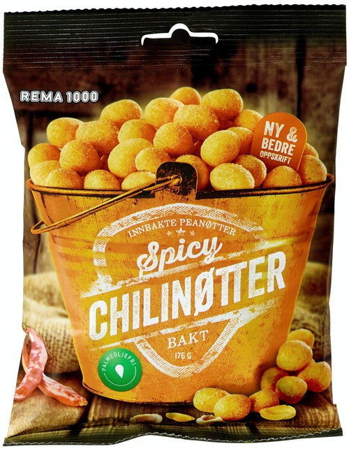 REMA 1000 Chilinøtter 175 g