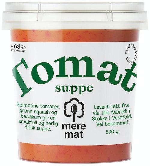 Mere Mat Suppe med Tomat, Squash & Basilikum 530 g