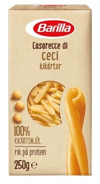 Barilla Grønnsakpasta Casarecce Kikerter 250 g
