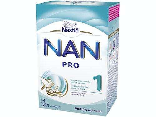 Nestlé NAN Pro 1 Fra fødselen, 700 g