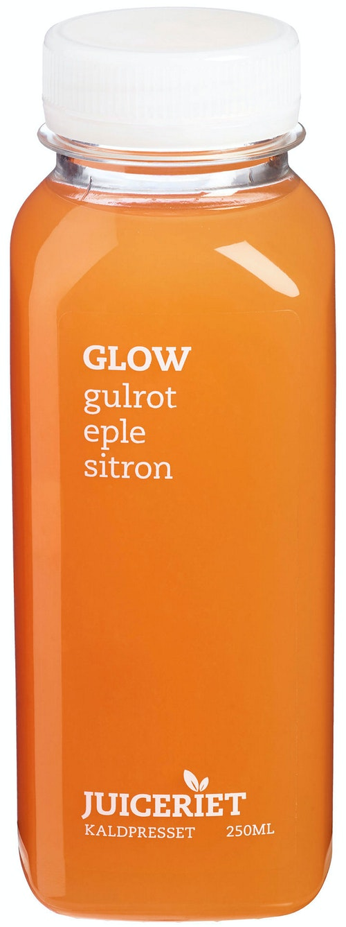Juiceriet Golden Glow Gulrot, Eple & Sitron, 250 ml