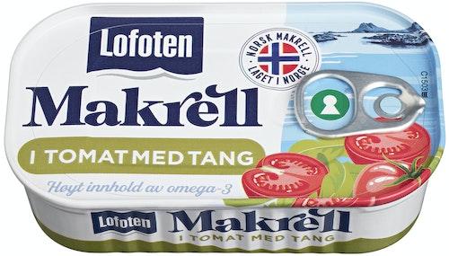 Lofoten Makrell i Tomat med Tang 110 g
