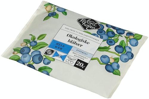 Kolonihagen Blåbær Frosne Økologisk, 250 g