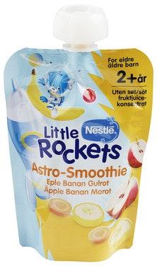 Little Rockets Smoothie Banan Fra 2 år, 150 g