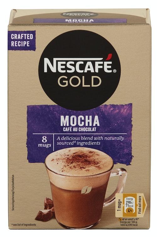 Nescafé Nescafé Cafe Au Chocolat 8stk, 144 g
