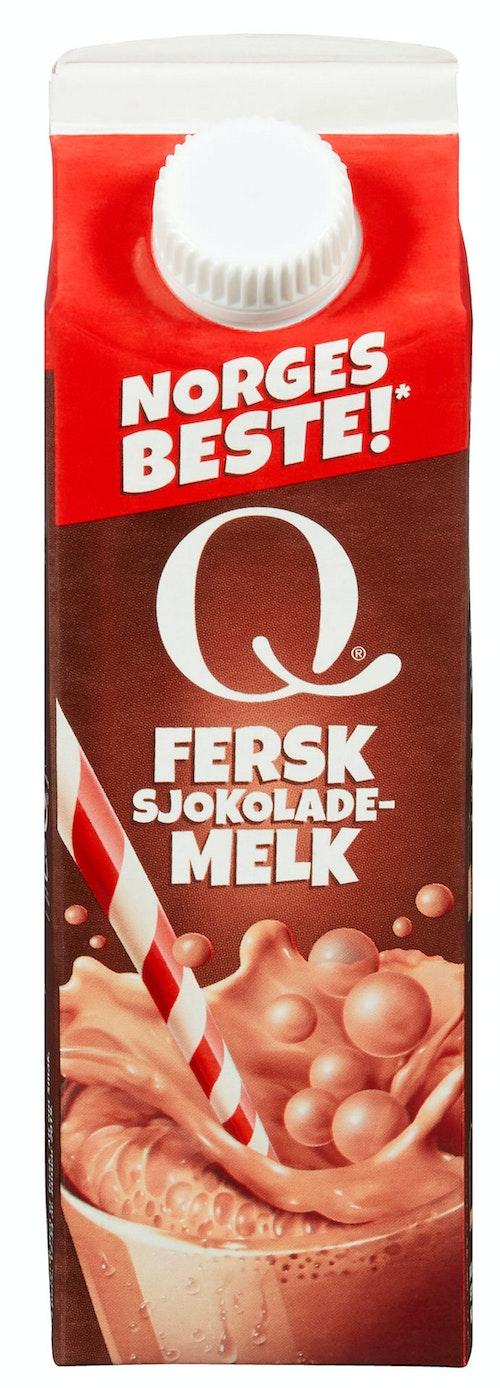 Q-meieriene Q-sjokolademelk 0,5 l