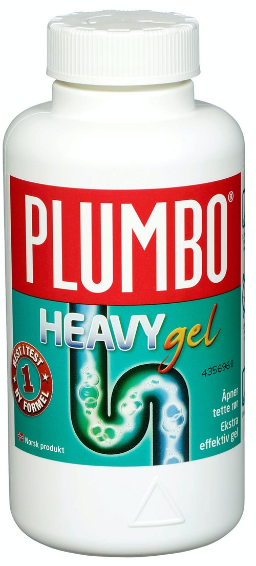 Plumbo Heavy Gel Avløpsåpner, 550 g