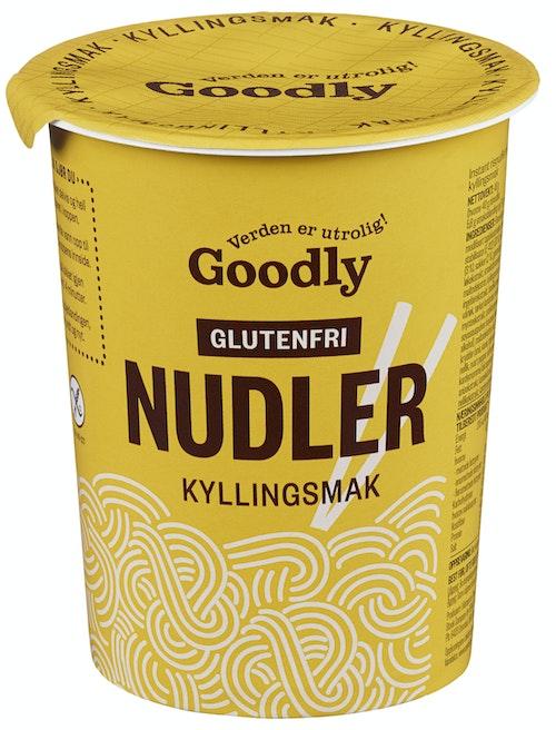 Goodly Nudler i Kopp M/kylling Glutenfri, 50 g