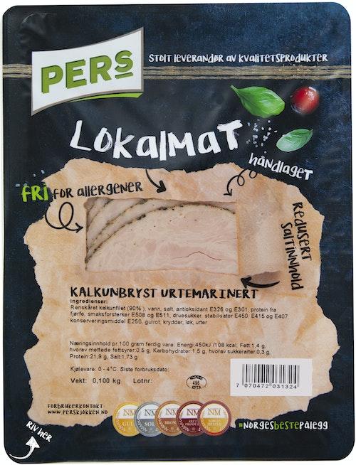 Pers Kjøkken Urtemarinert Kalkunbryst 100 g