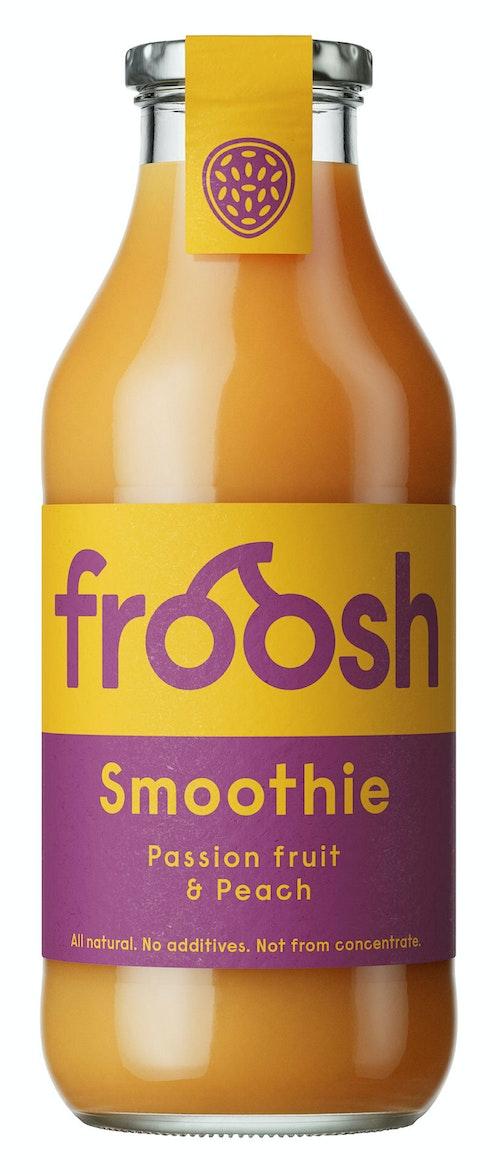 Froosh Smoothie Fersken & pasjonsfrukt 750 ml
