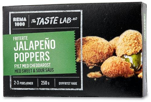 REMA 1000 Jalapeño Poppers Taste Lab, 250 g