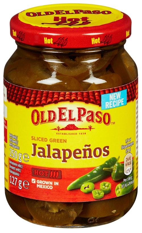 Old El Paso Jalapenos 250 g