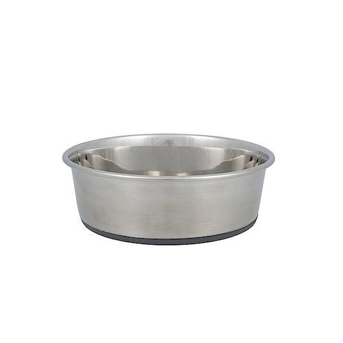 Hundematskål rustfri 2 liter, 1 stk