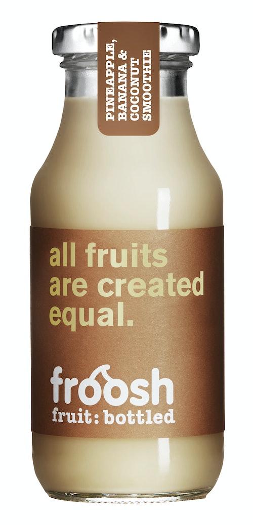 Froosh Smoothie Ananas, Banan & Kokos 250 ml