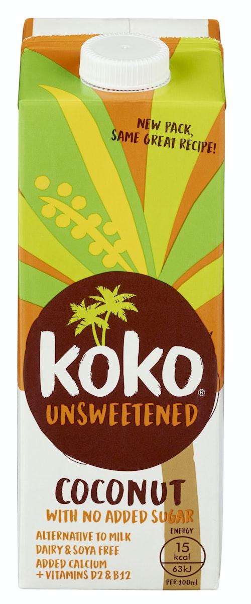 Koko dairy free Usøtet, 1l 1 l