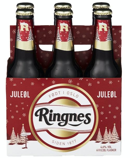 Ringnes Ringnes Juleøl 6 x 0,33l, 1,98 l