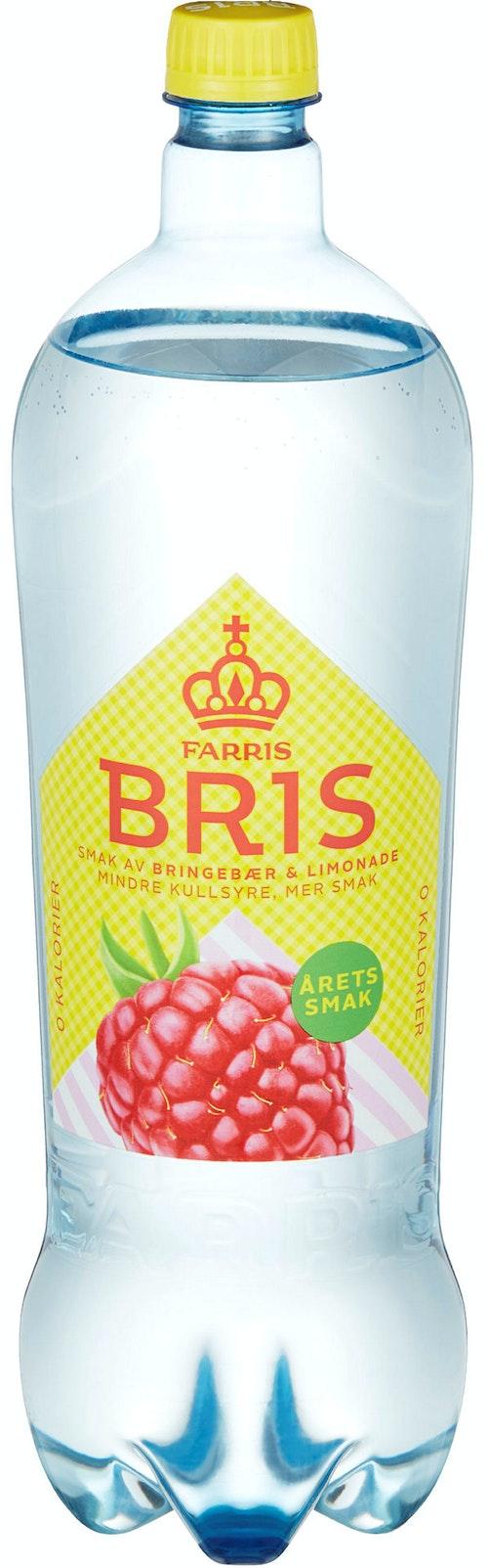 Ringnes Farris Bris Bringebær Limonade 1,5 l